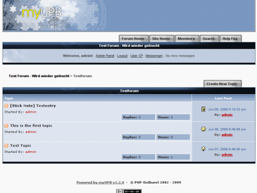 myUPB Screenshot